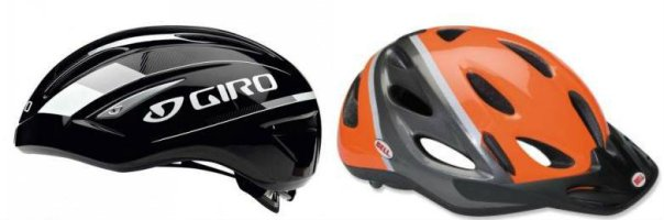 comparison giro air attack and bell citi 2