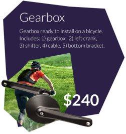 Efneo Gearbox $240