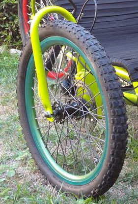 Fortrike 2 front fork