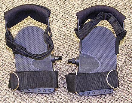 platform pedals buckle
