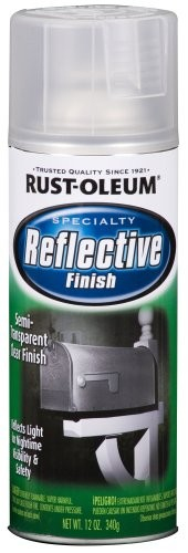 reflective spray paint Rust-Oleum