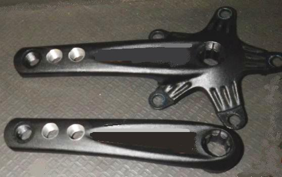 drilled and tapped crankarms