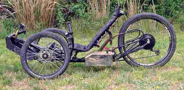 Horizon all electric all terrain tadpole trike 2