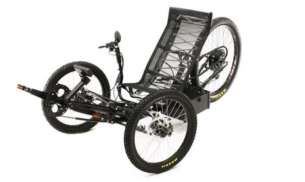 Horizon all electric all terrain tadpole trike