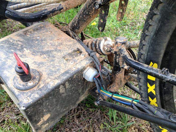 Horizon rear suspension