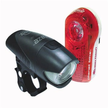 Planet Bike headlight and taillight set