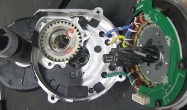 Bafang electric motor inside
