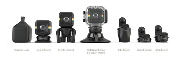polaroid cube camera mounts