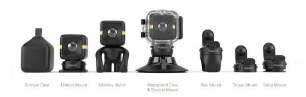 polaroid cube camera mounts