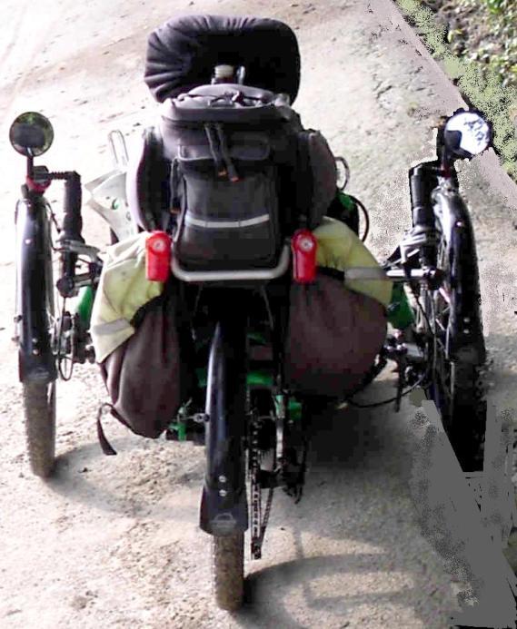 panniers & trunk bag