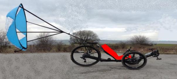 drag chute on trike