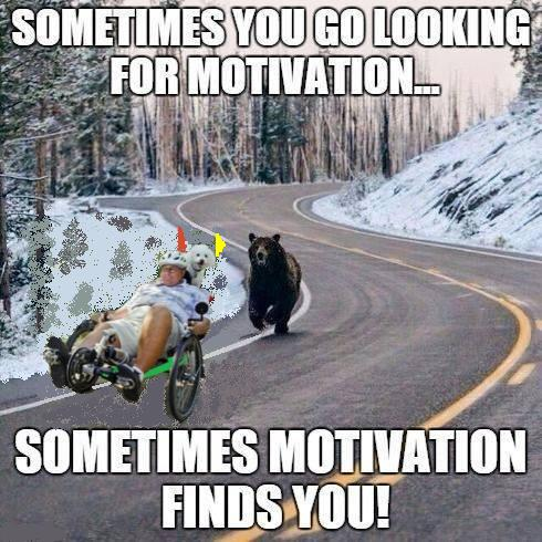 motivation for pedaling 2