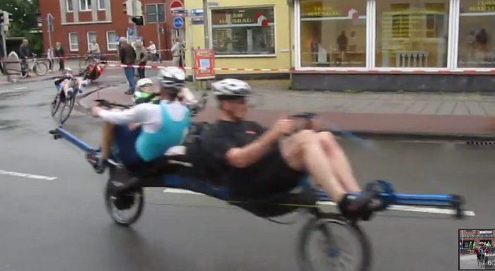 push-pull handlebar tandem bike 2