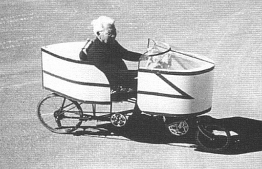 2 wheeled velocar