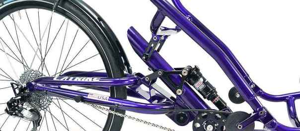 Catrike Dumont rear suspension