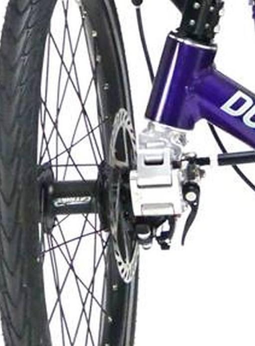 Dumont front suspension