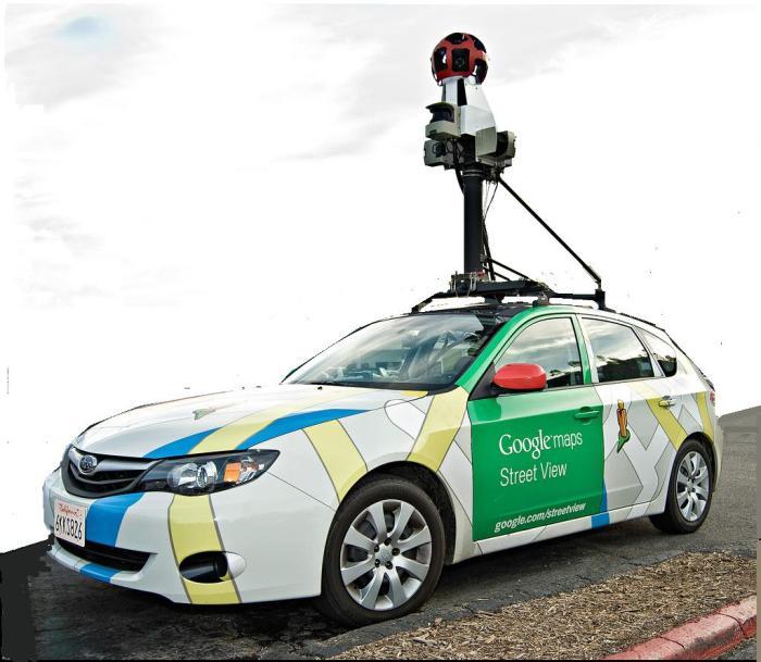 Google map car 2