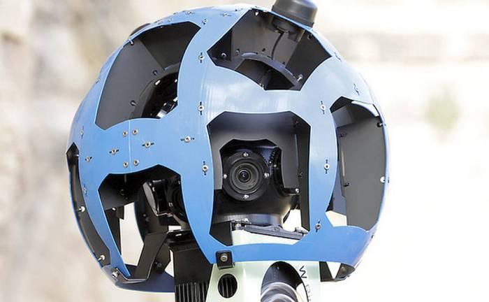 Google Maps Street View cameras
