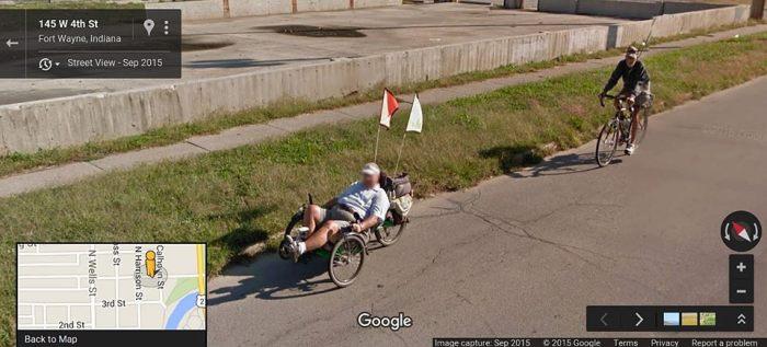 Steve & Gary Google Street View  on W. 4th St.