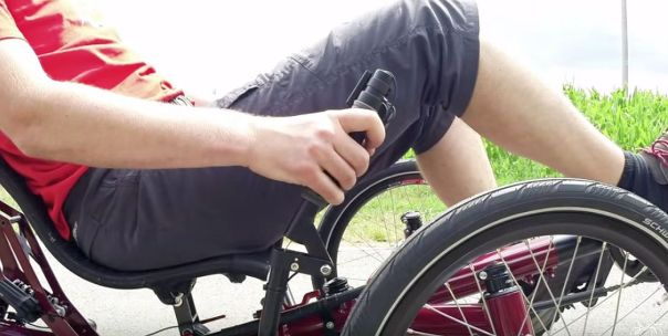 Push Brakes for Disabled Riders