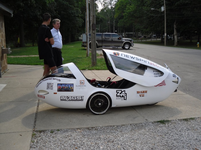 velomobile at JAP 1