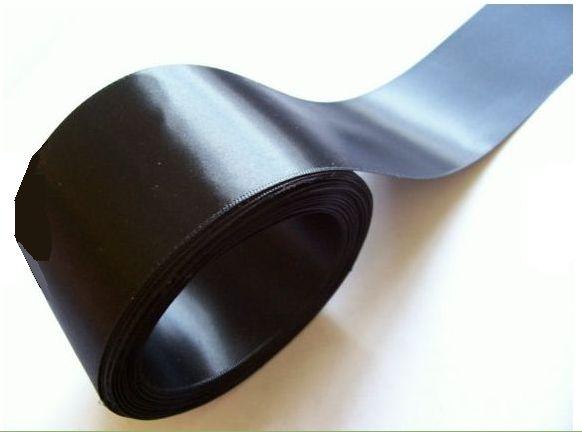 black satin finish 2 inch ribbon 2