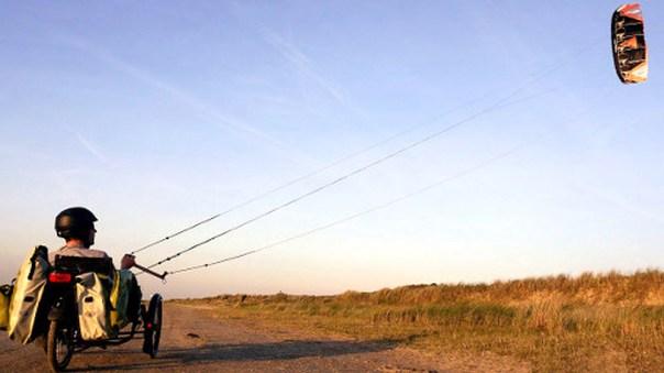 kite pulling trike