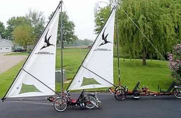 trikes with sails