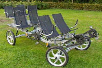 6 seat side by side quad