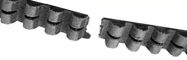 broken drive belt
