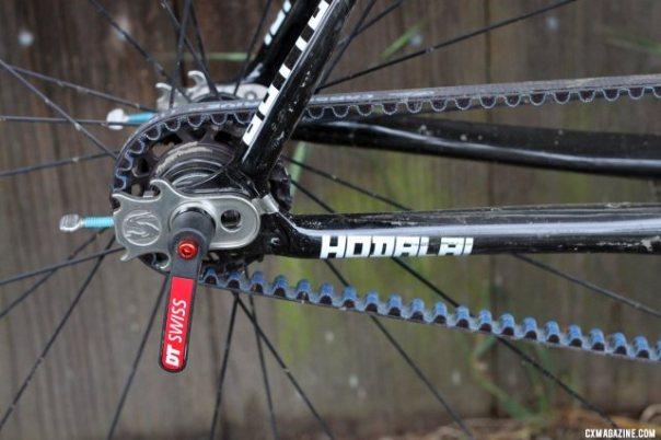 drive belt tension adjustment