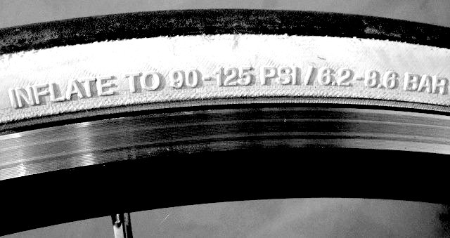 sidewall tire pressure