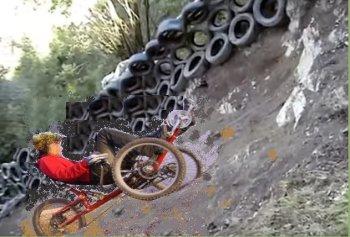 fat trike hill climb 3