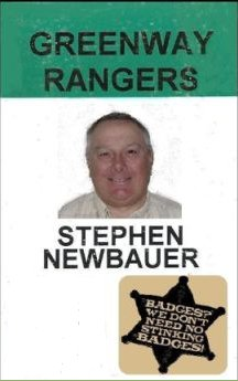 greenway ranger card with badge & no seal