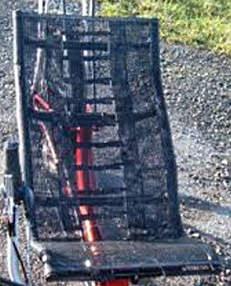 mesh seat straps
