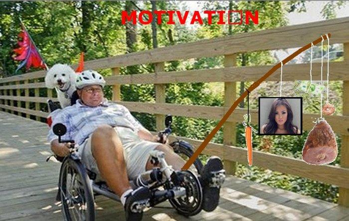 motivation on a stick