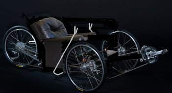 recliner chair tadpole trike