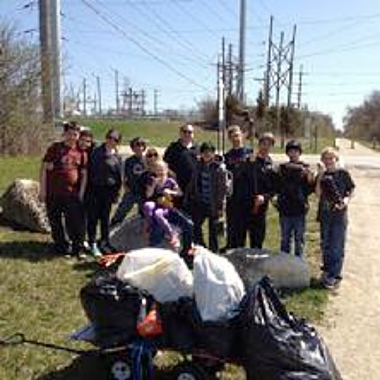 trail cleanup effort