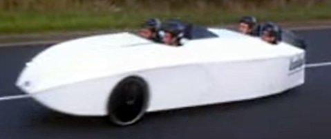 4 seat Trisled velomobile 2