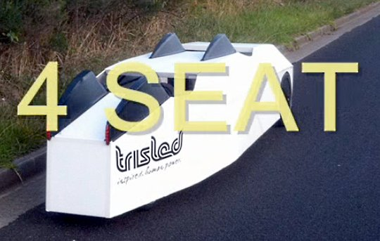 4 seat Trisled velomobile 3