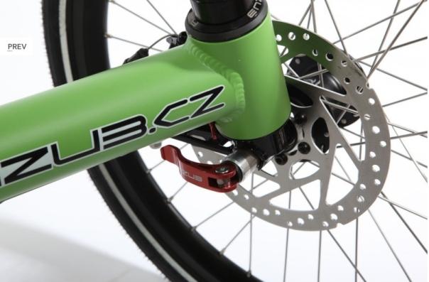 Azub Tricon wheel release