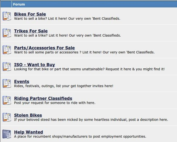 BROL Classifieds categories