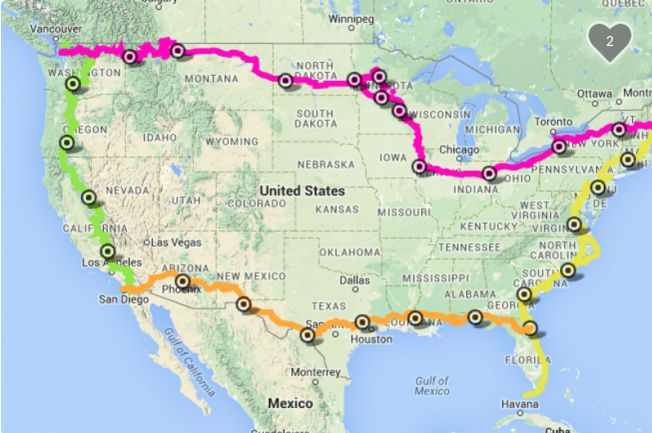 Expedition for Spinal Injuries trike route