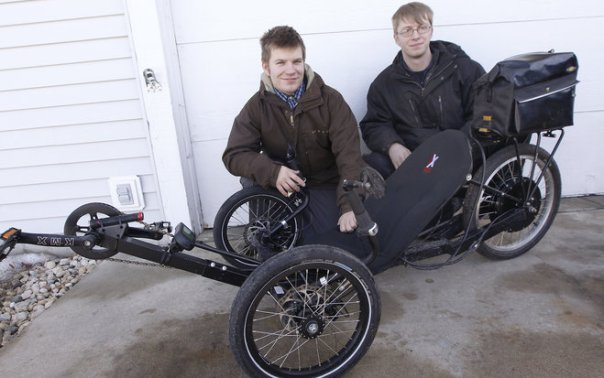 inventors with trike