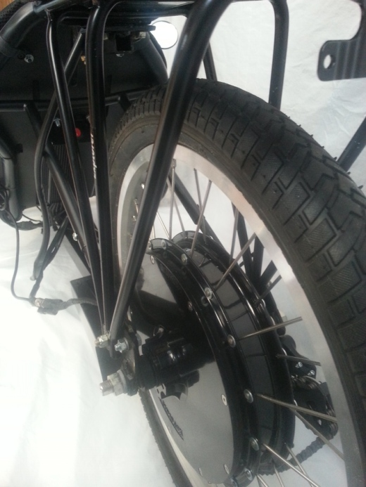 motorized rear hub