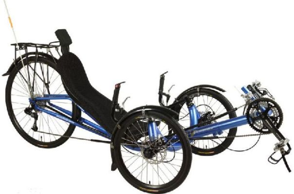 Performer Recumbent Trike JC70AL-FRP X.9 30 speed