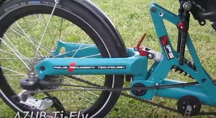 Azub rear suspension 3