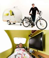 THE PEDAL INN, A HOMEMADE INSULATED CAMPER (NOMAD LIVING) | Tadpole