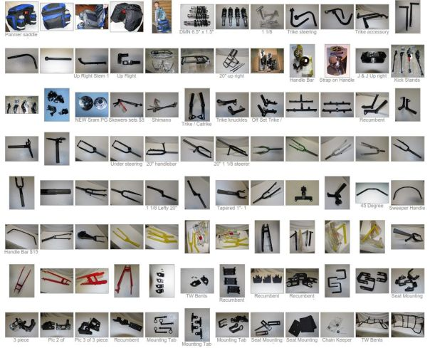 trike parts for sale website screenshot