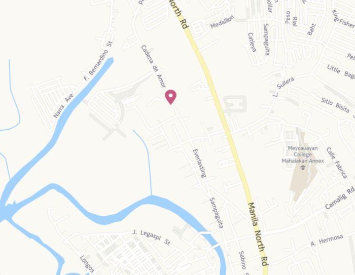 Trikewars location map immediate area